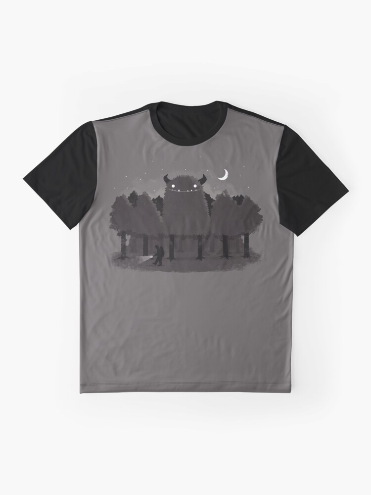 Alternate view of Monster Hunting Graphic T-Shirt