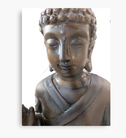 Budha again  Metal Print