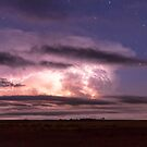 Epic Cloud To Cloud Lightning Storm by Bo Insogna