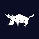 Bull Vector Silhouette by zachsymartsy