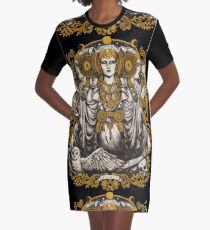 IBERIAN HECATE Graphic T-Shirt Dress