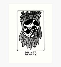Sigil Against Anxiety Art Print