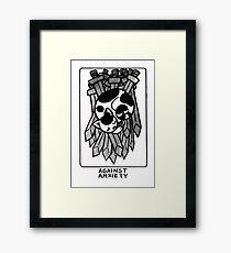 Sigil Against Anxiety Framed Print
