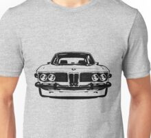 1972 3.0cs - Black and White Unisex T-Shirt