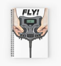 Fly RC - Radio Spiral Notebook