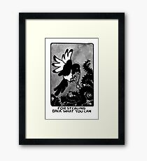 Sigil For Stealing Back What You Can Framed Print