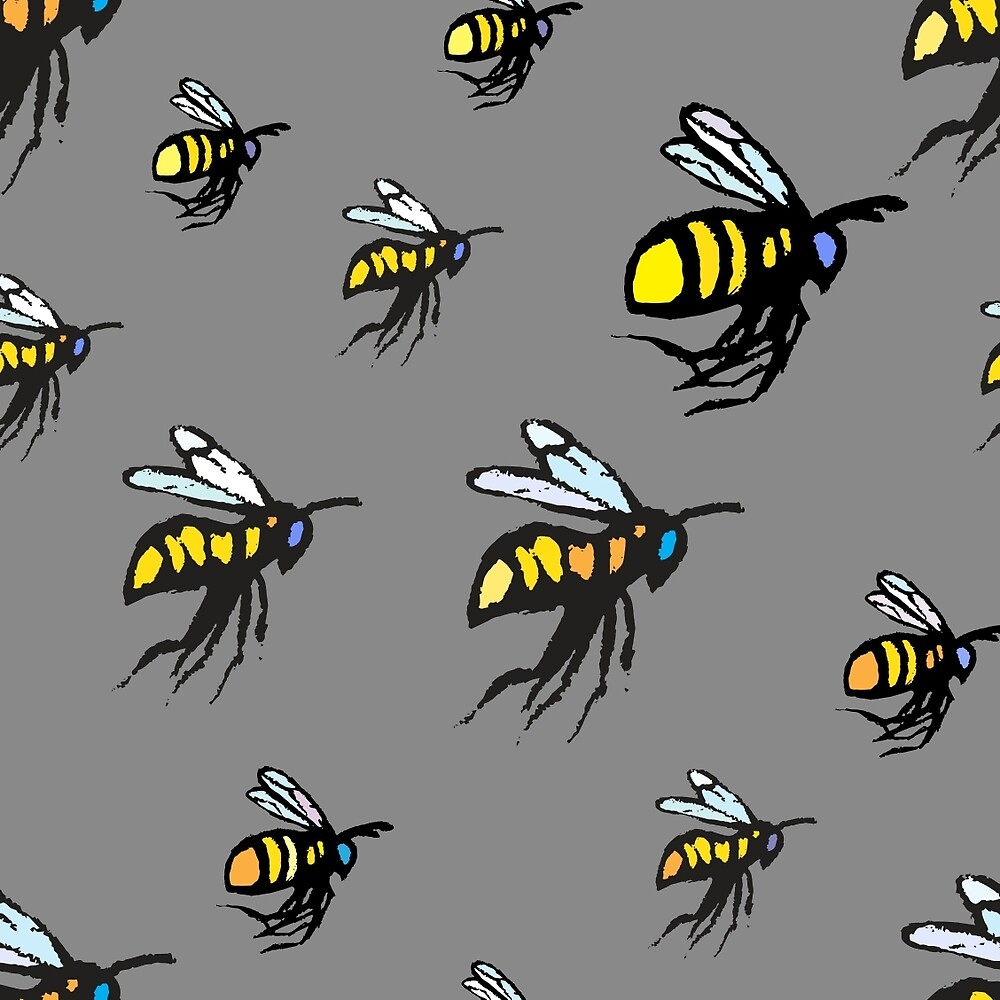 Bumble Bees by LMAnice