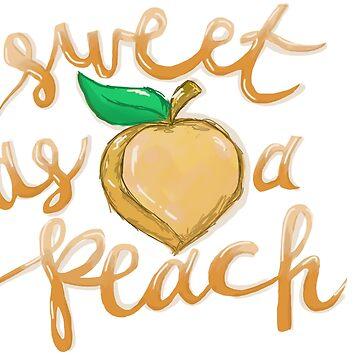 peach by annnaalove