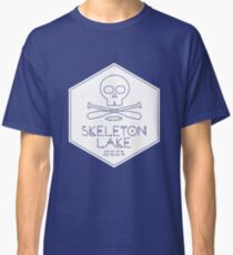 Skeleton Lake (white print) Classic T-Shirt