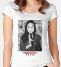 Lindsay Lohan - GUN. Women's Fitted Scoop T-Shirt