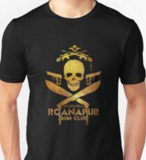 Black Lagoon ROANAPUR GUN CLUB black Unisex T-Shirt