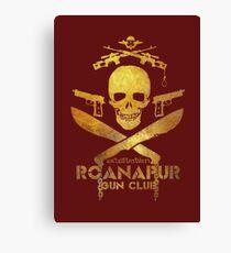 Black Lagoon ROANAPUR GUN CLUB red Canvas Print
