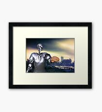 Hamlet Science-Fiction Framed Print