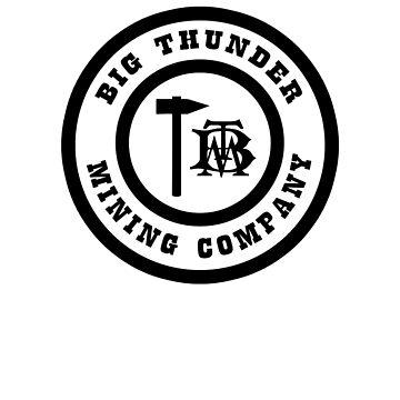 BigThunderMiningCompanyLogoBlack by WDWretro