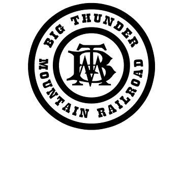 BigThunderMountainRailroadBlack by WDWretro