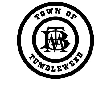 BigThunderTownOfTumbleweedBlack by WDWretro