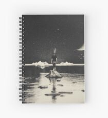 The Day Has Eyes, The Night Has Ears Spiral Notebook
