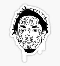 Kendrick Lamar (Good Kid M.A.A.D City) Sticker
