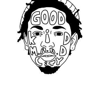 Kendrick Lamar (Good Kid M.A.A.D City) by Zhamwich