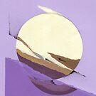 Purple sun by Mara Irbe