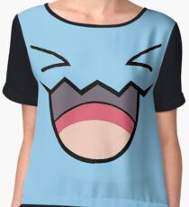 wobbufett pokemon Women's Chiffon Top