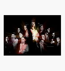 Buffy - Characters Photographic Print
