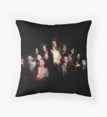 Buffy - Characters Throw Pillow
