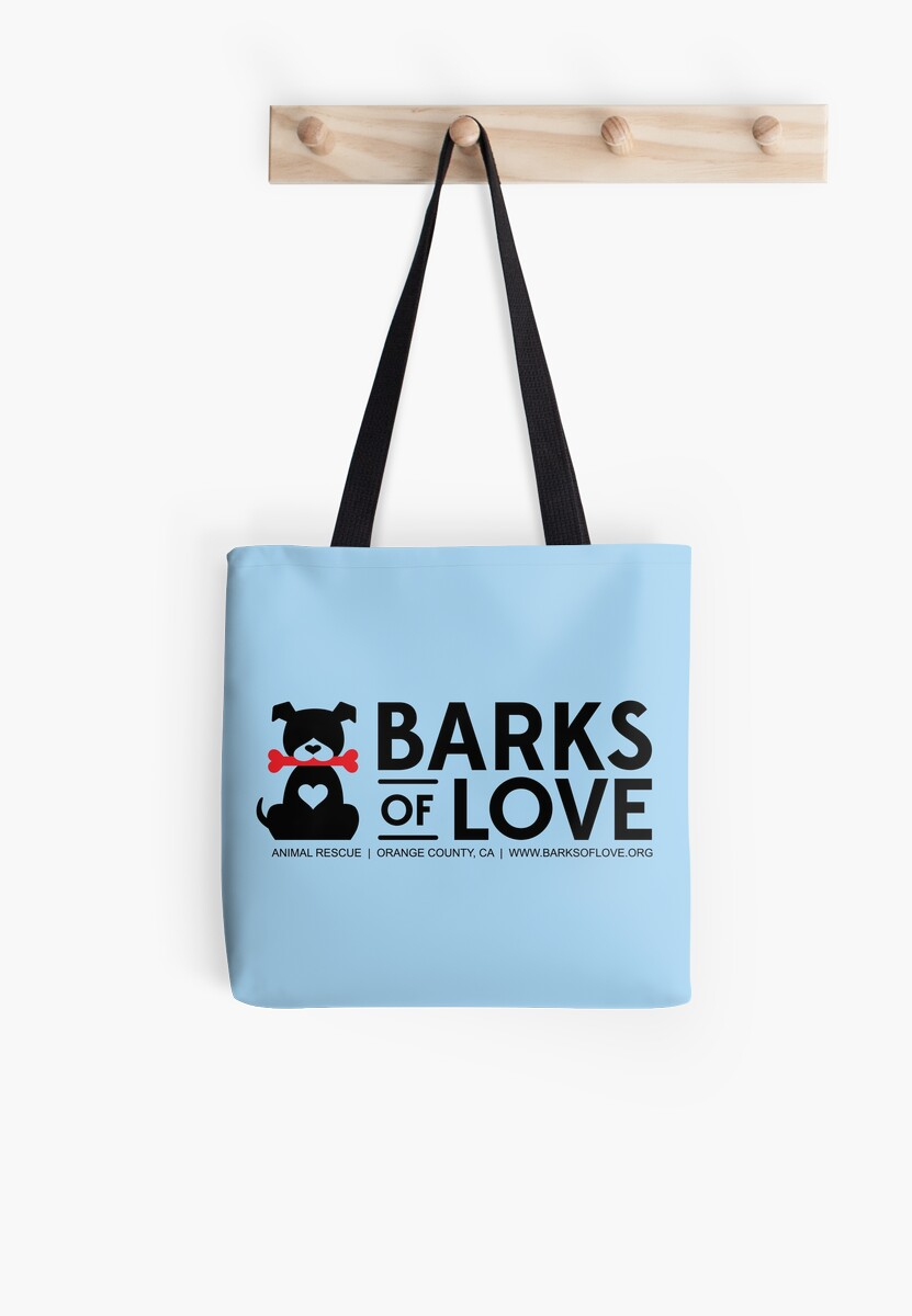 Barks of Love Totes & Pillows by Barks of Love Animal Rescue