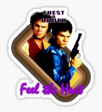 Brock and Chest- Feel the Heat Sticker