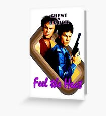 Brock and Chest- Feel the Heat Greeting Card