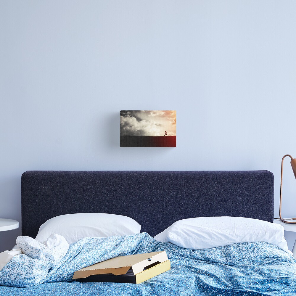 This Helpless Darkness Canvas Print