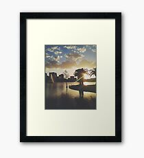 RIGHTEOUS VICE Framed Print