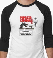 PUPPET FICTION - PUPAZZO CRIMINALE Men's Baseball ¾ T-Shirt