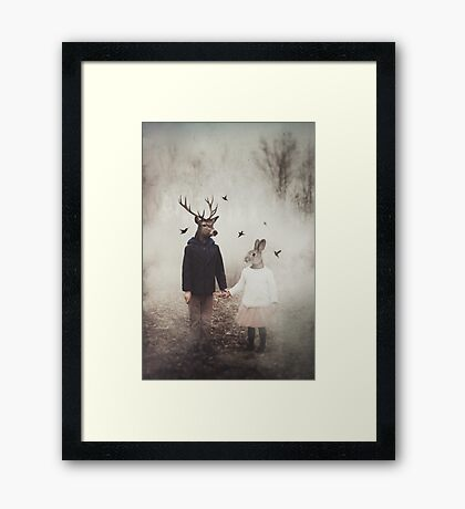 Creatures of Commonplace Framed Print