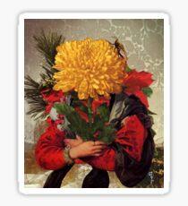 Portrait of Susanna Fourment as a Flower Arrangement Sticker