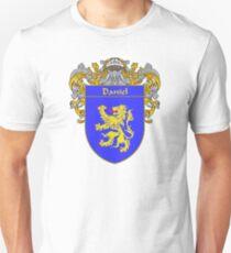 Daniel Coat of Arms/Family Crest Unisex T-Shirt