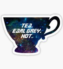 Tea. Earl Grey. Hot. [I] Sticker
