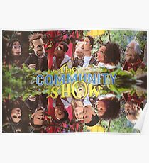 Community - Puppet Show! Poster