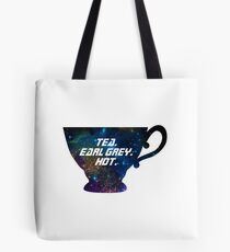 Tea. Earl Grey. Hot. [I] Tote Bag