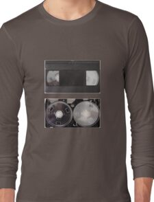 VHS - inside and outside Long Sleeve T-Shirt