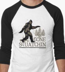 Gone Squatchin Men's Baseball ¾ T-Shirt