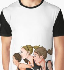 Running, Running, Running Graphic T-Shirt