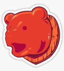 Bear Price Sticker