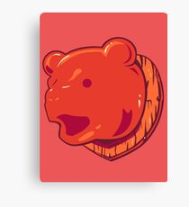 Bear Price Canvas Print