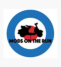 Mods On The Run Photographic Print
