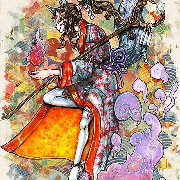 Traditional Inari by AlexzMercury