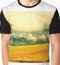 Golden Irish Landscape Graphic T-Shirt