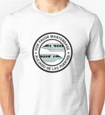 MonorailPorFavorTeal Slim Fit T-Shirt