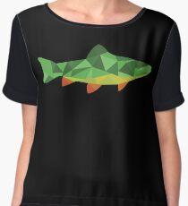 Trout Fish Chiffon Top