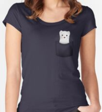pocket ferret Women's Fitted Scoop T-Shirt